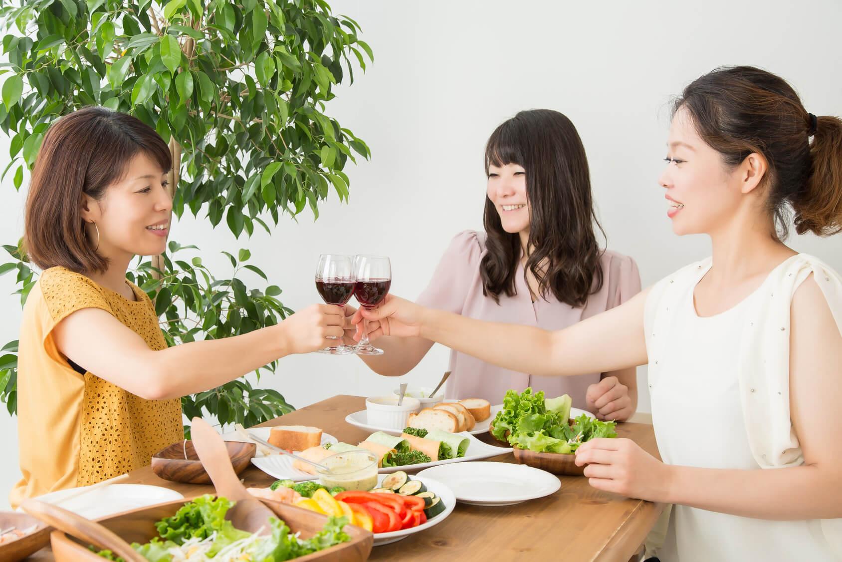 女子会、デリバリー、ホームパーティのお役立ち・マガジン