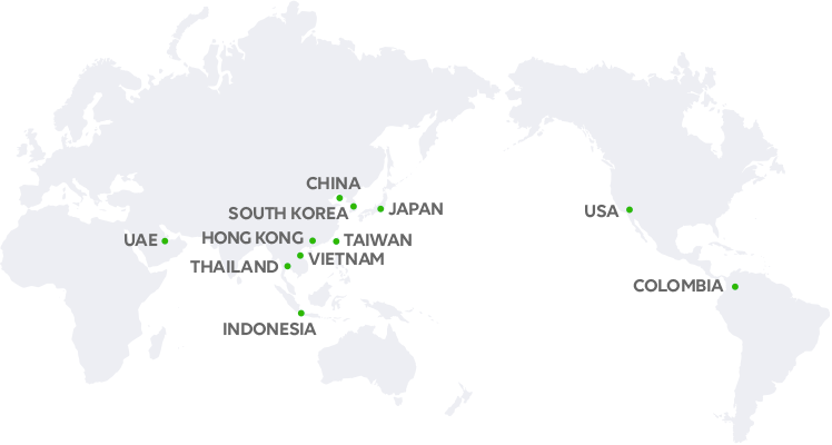 LINE's Global Offices